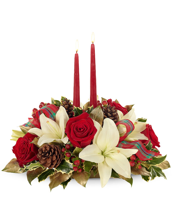 Home for the Holidays Centerpiece